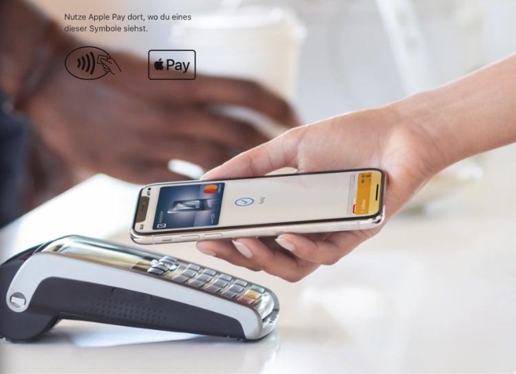 Apple Pay Zahlungsmethode