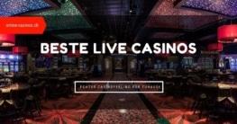 Beste Live Casinos Beitragsbild