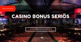 Casino Bonus seriös Beitragsbild
