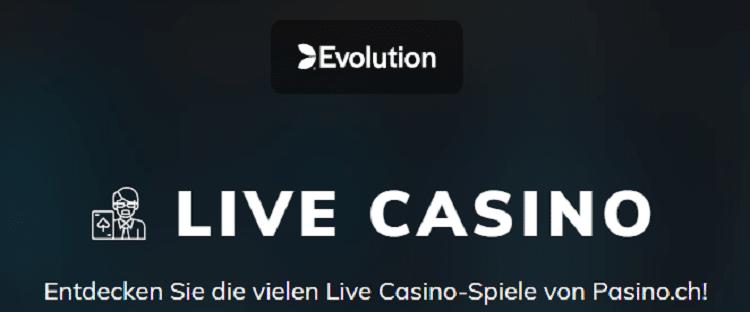 Live Casino von Evolution Gaming