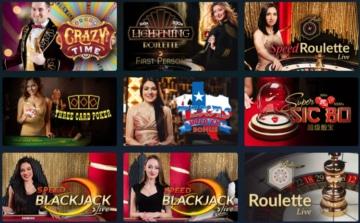 Live Casino bei Pasino