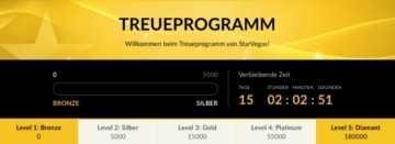 StarVegas Treueprogramm