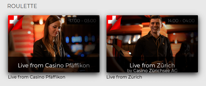 Live Stream ins landbasierte Casino