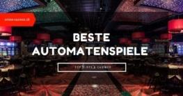 Beste Automatenspiele für Schweizer