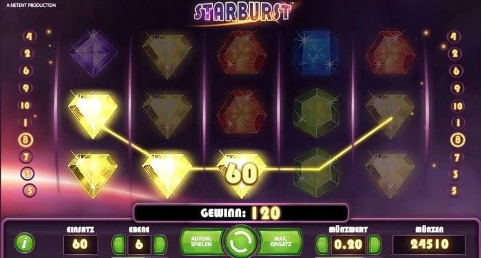 Starburst Bonus Feature