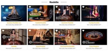 Live Casino bei Swiss4Win.ch - Roulette