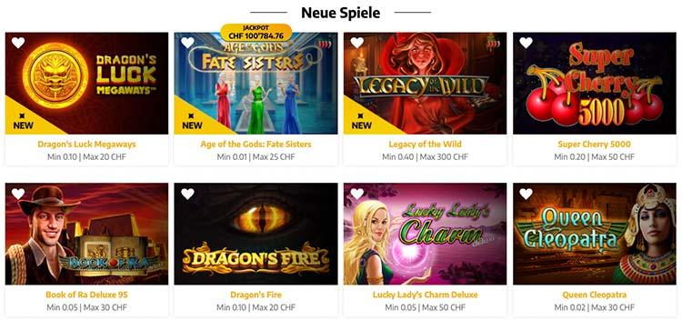 Neue Spielautomaten_Swiss4Win
